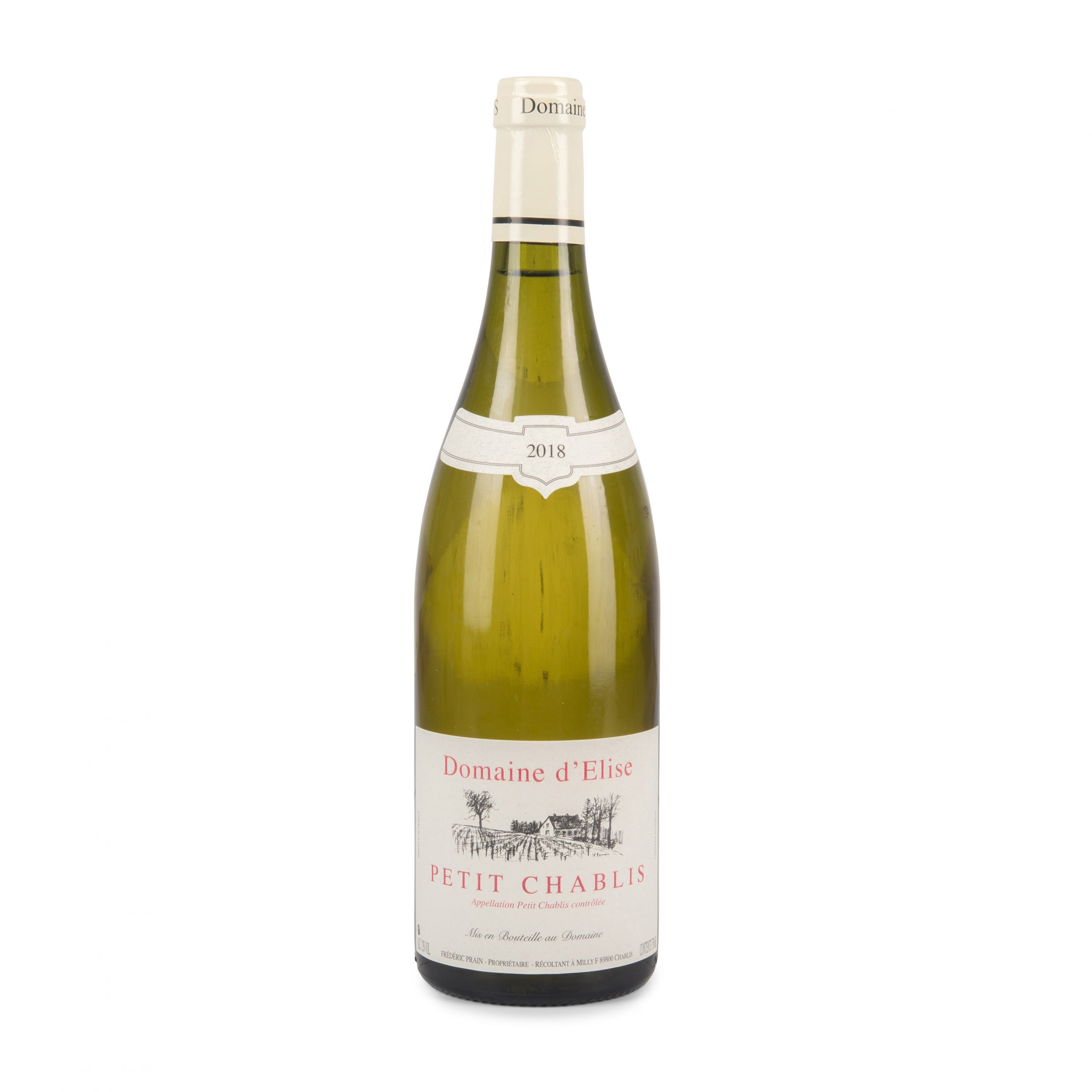 A bottle, Petit Chablis