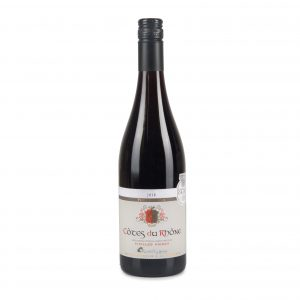 A wine bottle, Cotes Du Rhone