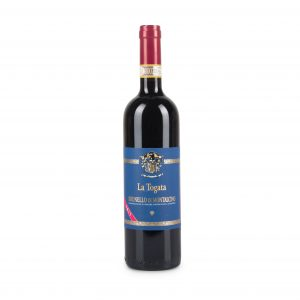 A bottle, brunello di montalcino 2013