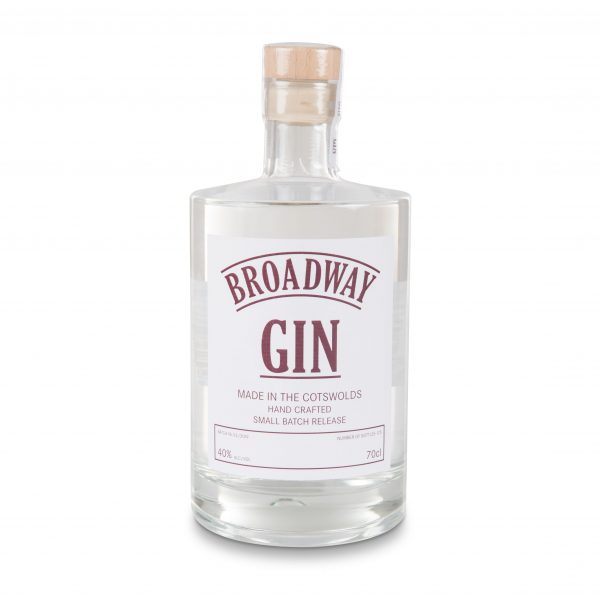 A bottle, Broadway Gin